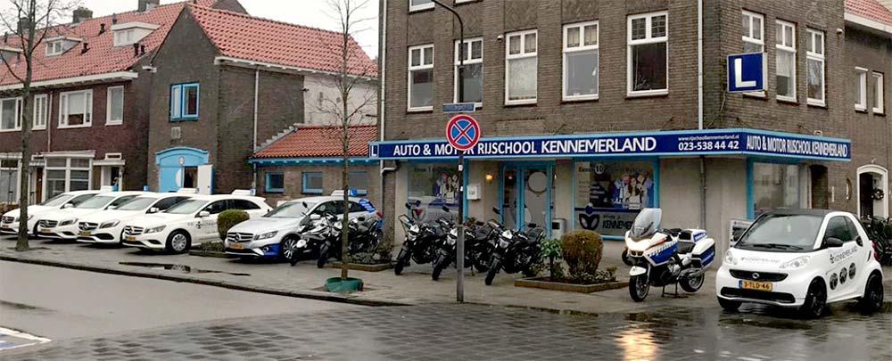 Contact Rijschool Kennemerland